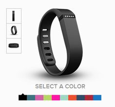 #Fitbit - tracks steps, #calories burned and #active minutes.  #LED light shows progress.  Monitors your #sleep and wakes you up with a #silent #alarm.  #InternetofThings