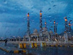 Alsaleh Mosque in Sana'a,Yemen.