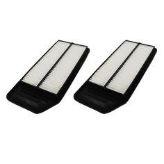 2 Rigid Panel Air Filters Fit Acura & Honda | Part # A25503 & CA9564