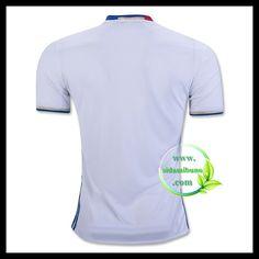 Fotballdrakter Olympique Lyonnais Hjemmedraktsett 2016-2017 Lyonnaise, Mens Tops, T Shirt, Fashion, Moda, Tee, Fasion, Trendy Fashion, Tee Shirt