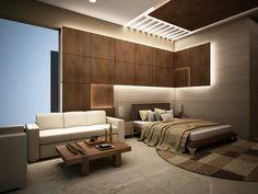 House in Ansal Villas. Master Bedroom Interior, Luxury Bedroom Design, Bedroom Ceiling, Room Interior Design, Master Bedroom Design, Apartment Interior, Home Interior, Round Beds, Dream Rooms