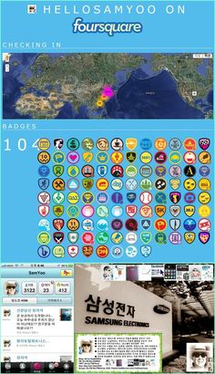 Loving Foursquare where I have been checking since June 2010 is one of my favorities at SNS! Recent my Badges I got and Local LBS I favored. (Let's have friend at 4sq, shall we? http://4sq.com/4sqLOVE http://twitter.com/hellosamyoo)