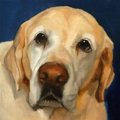 "Daily Paintworks - ""Eddie"" - Original Fine Art for Sale - © Philla Barkhorn"