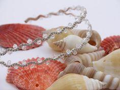 Bridal crystal tiara Bridal Crown Swarovski by DesignByIrenne