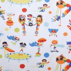 Michael Miller Kids Collection Michael Miller, Fabrics, Collection, Backgrounds, Tejidos, Cloths, Fabric, Textiles