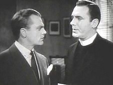 James Cagney and Pat O'Brien in Angels With Dirty Faces (1938), the sixth of the nine features the pair made together.