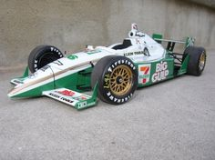 """2002 - Paul Tracy's (#26) Dallara/Chevrolet, """"7-Eleven"""" - Qualified: 29th, Speed (228.006 mph) Finished: 2nd."""