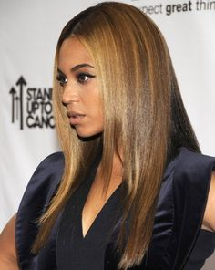 "Beyonce's classic ""Bronde"" is salon professional perfection. Use Affinage Professional Infiniti to achieve the same results. #affinageaustralia #bronde"