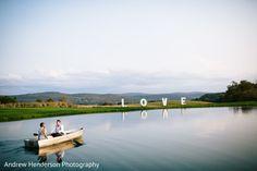 Swoon worthy Indian bride and groom lake photo shoot. https://www.maharaniweddings.com/gallery/photo/141428