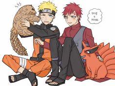 I love this friendship Gara Naruto, Kakashi Sensei, Naruto Cute, Naruto Shippuden Sasuke, Sasunaru, Boruto, Comic Naruto, Arte Ninja, Funny Naruto Memes