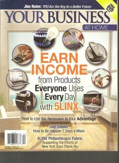 Your Business at Home Magazine (Earn Income from « Library User Group