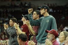 The student section at the Colonial Life Arena is always engaged!