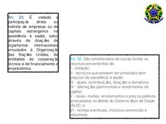 Resumão Lei 8080 para provas e concursos Odontostation@gmail.com