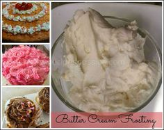 Butter Cream Frosting recipe | Chocolate Butter Cream Frosting