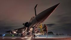 Φωτογραφία-σοκ από την ΠΑ εν μέσω φρενίτιδας τουρκικών προκλήσεων: Πύραυλοι cruise SCALP-EG φορτώθηκαν μέσα στη νύχτα σε Mirage 2000-5Mk2!