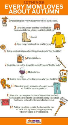 12 Things Every Mom Loves About Autumn   More LOLs & Funny Stuff for Moms   @letmestart on @NickMom