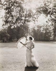 Queen Elizabeth, Bucking Palace Garden. By Cecil Beaton, 1939.