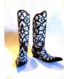 Cock Of The Walk;Botas De Damasco; Custom Boots!