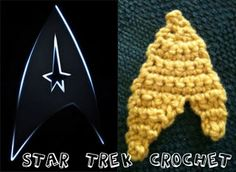 Star Trek symbol (with free pattern)
