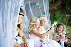 High Tea On The Beach Party ( kids photo idea )