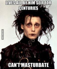 Bad Luck Edward Scissorhands