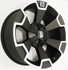 4Pcs 18x9 BLACK KMC XD SERIES XD803 WHEELS 5x139.7 5x150 Toyota Tundra