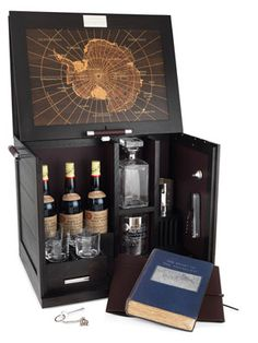 Dunhill whiskey cabinet