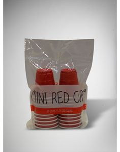 Party points to ME! I just found the Mini Red Cup Plastic 2 oz. Shot Glass Set 20 Pc from Spencer's. Visit their mobile website to get this item and more like it.