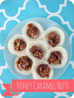 My House of Giggles: Honey Caramel Nuts (GAPS, no sugar, healthy snack)