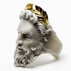 ZEUS RING by Macabre Gadgets | MARBLE & GOLD  Macabre Gadgets Online Boutique: store-macabregadg...