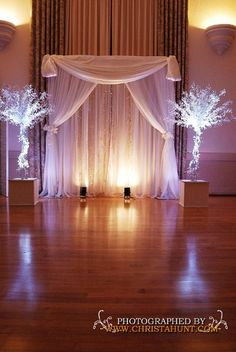 Backdrop - great for wedding altar and behind cake or display table.