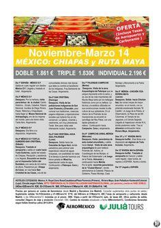 MEXICO: Chiapas y Ruta Maya 13D Aeromexico 1.861€ Tasas Incluidas ultimo minuto - http://zocotours.com/mexico-chiapas-y-ruta-maya-13d-aeromexico-1-861e-tasas-incluidas-ultimo-minuto/