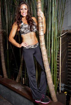 Swarovski Sports Bra and pants, Customized with your measurements, www.traceychaffin.com