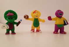 Barney and Friends PVC Figure Toy Cake Toppers BJ Baby Bop Lot | Toys & Hobbies, TV, Movie & Character Toys, Barney | eBay!