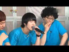 yonghwa and kwanghee sing on Happy Together Kang Min Hyuk, Lee Jong Hyun, Lee Jung, Jung Yong Hwa, Yoo Jae Suk, Korean Variety Shows, Happy Together, Cnblue, Your Voice