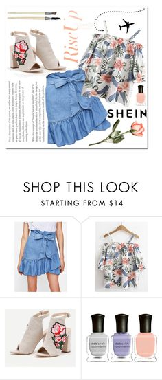"""SHEIN 4"" by aidaaa1992 ❤ liked on Polyvore featuring Deborah Lippmann"