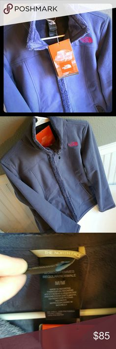 NWT North Face Jacket! Selling a NWT North Face Jacket! This jacket is soooo soft! Fleece like material, medium in size. North Face Jackets & Coats
