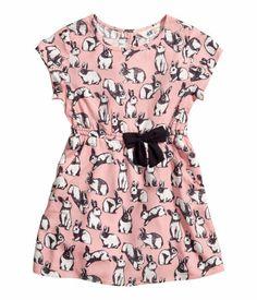 back to school. bunny dress.   H CA
