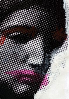Venus De Milo, by Chad Wys, pop art, collage art. Graphic Design Branding, Graphic Design Illustration, Graphic Art, Illustration Art, Peony Drawing, Photocollage, Grafik Design, Graphic Design Inspiration, Collage Art