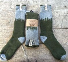 Exciting  The Skookumchuck Sock - Treeline Outdoors