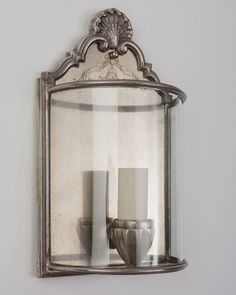 Silverplate Sconces by The Sterling Bronze Co. Circa 1920 - from Remains Lighting