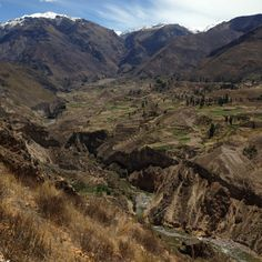 The beautiful Colca Valley (Image: Melisse Hinkle)