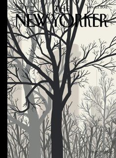 "The New Yorker cover: ""Sunlight on Twenty-third Street"". Illustrated by Jorge Colombo"