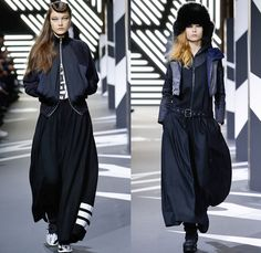 Y-3 Yohji Yamamoto Adidas 2014-2015 Fall Autumn Winter Womens Runway Looks Fashion - Paris Fashion Week Défilés - Sportswear Jogging Sweatpa...
