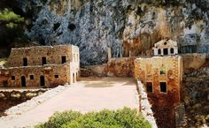 Katholiko Monastery (Akrotiri) - 2020 All You Need to Know BEFORE You Go (with Photos) - Tripadvisor Crete Chania, Crete Greece, Rock Art, Trip Advisor, Greek, Landscapes, October, Lost, Mansions