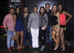 Miguel Cordero, Fernanda Mtez, Eduardo Dávalos, Fernando López, Cindy Guillot, Gerardo Rivera, Paty Bolcekova y Lorena Gatica.