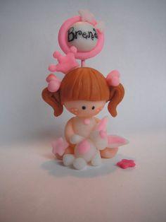 Souvenirs Para Cumpleaños O Nacimientos En Porcelana Fria - By Maria Elena Lopez