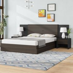 Ivy Bronx Mcintyre Platform 2 Piece Bedroom Set Size: Queen