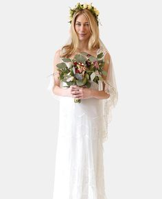 We're Obsessed With Stone Fox Bride's New Floral Veils | TheKnot.com