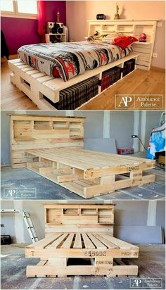 Pallet-Bed-with-Storage-or-Headboard-with-Shlves (2)